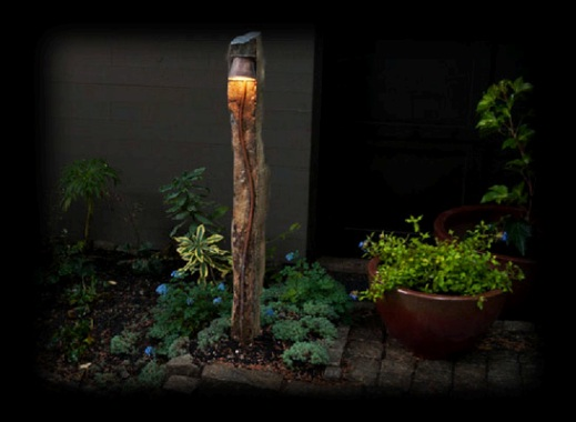 Temple garden outdoor lighting where form meets function photo of stone light photo of stone light in the garden mozeypictures Image collections